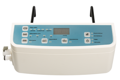 Air mattress pressure monitoring pump